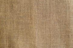 Fondo de la textura de la arpillera Fotos de archivo