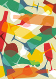 Fondo de la textura de la bebida Imagen de archivo libre de regalías