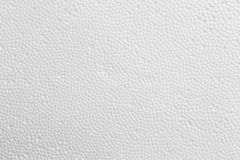Fondo de la textura de la espuma de poliestireno Foto de archivo libre de regalías