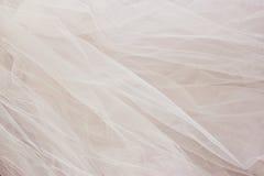 Fondo de la textura de la gasa de Tulle del vintage Concepto de la boda imágenes de archivo libres de regalías