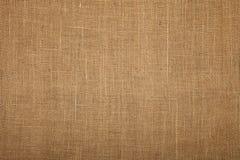 Fondo de la textura de la lona del yute de la arpillera de Brown