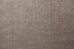 Fondo de la textura de la materia textil de la arpillera Fotografía de archivo