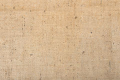 Fondo de la textura de la materia textil de la arpillera Fotografía de archivo libre de regalías