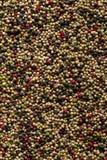 Fondo de la textura de la mezcla del grano de pimienta fotografía de archivo libre de regalías