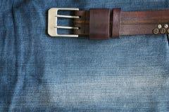Fondo de la textura de la mezclilla del dril de algodón Imagen de archivo libre de regalías