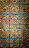 Fondo de la textura de la pared de ladrillo de la terracota Imagen de archivo