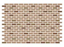 Fondo de la textura de la pared de ladrillo del vector Fotos de archivo libres de regalías