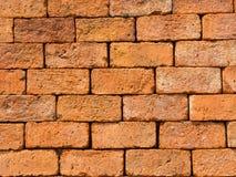 Fondo de la textura de la pared de ladrillo del vintage del primer, Tailandia imagen de archivo libre de regalías