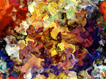 Fondo de la textura de la pintura de Digitaces stock de ilustración