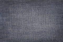 Fondo de la textura de la tela de los tejanos Fotografía de archivo libre de regalías