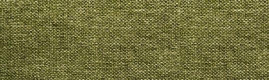 Fondo de la textura de la tela Verde Fotografía de archivo