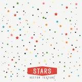 Fondo de la textura de las estrellas Foto de archivo libre de regalías