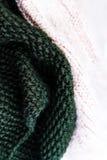 Fondo de la textura de las lanas que hace punto T horizontal hecho punto colorido Foto de archivo libre de regalías