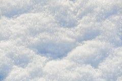 Fondo de la textura de los cristales del copo de nieve en detalles Imagen de archivo