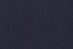 Fondo de la textura de los vaqueros del dril de algodón. Foto de archivo