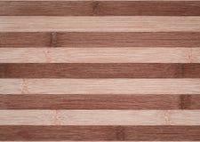 Fondo de la textura de madera de bambú decorativa Fotos de archivo libres de regalías