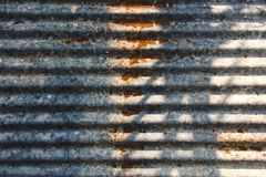 Fondo de la textura del cinc fotografía de archivo libre de regalías