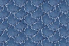 Fondo de la textura del dril de algodón Fotos de archivo libres de regalías