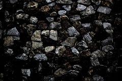 Fondo de la textura del grunge de la pared de piedra del contraste fotografía de archivo