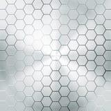 Fondo de la textura del metal del ejemplo del vector Fotografía de archivo libre de regalías