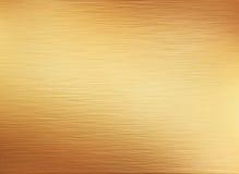 fondo de la textura del metal del oro Imágenes de archivo libres de regalías