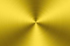 Fondo de la textura del metal del oro Fotos de archivo