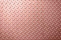 Fondo de la textura del metal de la hoja de Rose Gold imagenes de archivo