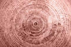 Fondo de la textura del metal de la hoja de Rose Gold imágenes de archivo libres de regalías
