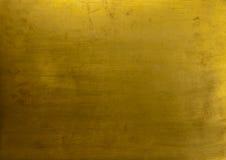 Fondo de la textura del oro Imágenes de archivo libres de regalías
