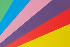 Fondo de la textura del papel de Colorfull Foto de archivo libre de regalías