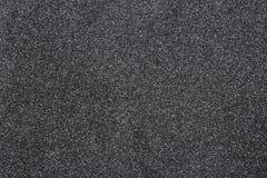 Fondo de la textura del papel de negro todavía oscuro con efecto natural claramente detallado de la textura del ruido del grano Fotografía de archivo