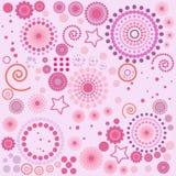 Fondo de la textura del papel pintado o del papier cadeau ilustración del vector
