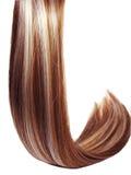 Fondo de la textura del pelo del punto culminante Imagen de archivo libre de regalías