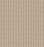 Fondo de la textura del suéter de Brown Vector Fotos de archivo libres de regalías