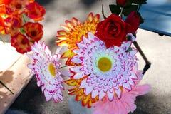 Fondo de la textura de la flor para casarse escena fotos de archivo libres de regalías