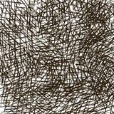 Fondo de la textura de la harpillera de la naturaleza con los agujeros stock de ilustración
