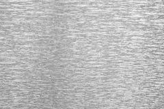 Fondo de la textura de la hoja de plata Fotos de archivo