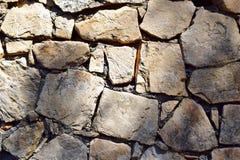 Fondo de la textura de la pared de piedra Fotografía de archivo libre de regalías