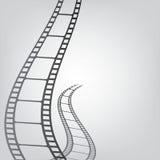 Fondo de la tira de la película Imagen de archivo libre de regalías