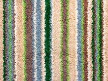 Fondo de la toalla áspera con las rayas coloridas Fotos de archivo libres de regalías