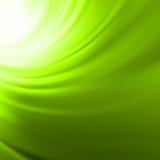 Fondo de la torcedura con flujo verde. EPS 8 Imagen de archivo libre de regalías