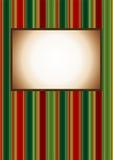 Fondo de la vendimia de la Navidad Fotografía de archivo