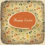 Fondo de la vendimia de Pascua. Imágenes de archivo libres de regalías