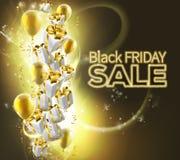 Fondo de la venta de Black Friday Imagen de archivo libre de regalías