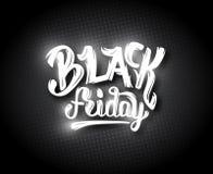 Fondo de la venta de Black Friday con el bokeh Fotografía de archivo libre de regalías