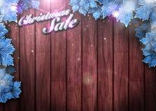 Fondo de la venta de la Navidad Imágenes de archivo libres de regalías
