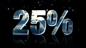 fondo de la venta del descuento 3d stock de ilustración