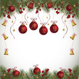 Fondo de la venta del invierno Fotografía de archivo libre de regalías