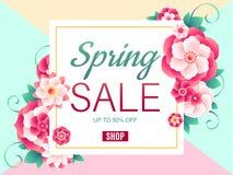 fondo de la venta de la primavera fotografía de archivo libre de regalías
