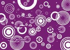 Fondo de la violeta de Grunge Fotografía de archivo